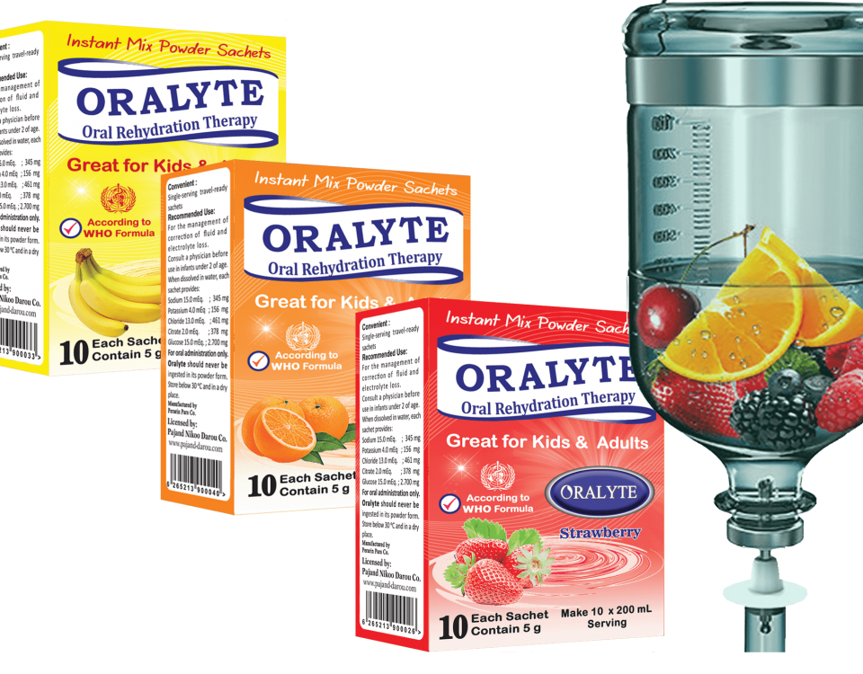 ORALYTE, Strawberry ORALYTE, Orange ORALYTE, Banana ORALYTE, ORS, Tasty ORS, Oral Serum, Tasty edible Serum, Sport, Athletes, Treatment for diarrhea, Replace serum, Substitute for injectable serum, After exercise, During exercise, Suitable for athletes, Treatment of heat stroke, Treatment of dehydration, Treatment for reducing body water, Sweating, Refreshment, Treatment of pressure drop, Pressure drop Low blood pressure, Reduce pressure, Low blood pressure, Dehydration Nutrition Supplements, Fever, Treatment for pressure drop in high fever, Treatment of weakness in high fever, common cold, Treating lethargy on Colds , Treatment of Dehydration in Fever, ORALYTE plas Zinc, ORALYTE plas Zinc Strawberry, ORALYTE plas Zinc Banana Zinc, ORALYTE plas Zinc Orange, Immune System, Increase Immune System, Zinc Gluconate,
